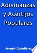 libro Adivinanzas Y Acertijos Populares