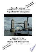 libro Aprender O Revisar Las 1000 Palabras Inglesas Mas Usadas Jugando Con 80 Crucigramas