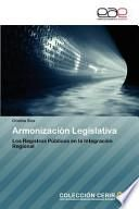 libro Armonización Legislativa