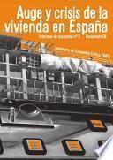 libro Auge Y Crisis De La Vivienda En España