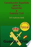 libro Constitución Española Para La Oposición A Guardia Civil