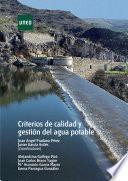 libro Criterios De Calidad Y GestiÓn Del Agua Potable