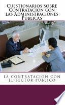 libro Cuestionarios De Derecho Administrativo. La Contratación Con Las Administraciones Públicas.