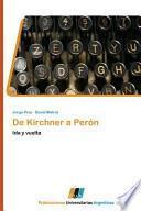 libro De Kirchner A Perón