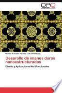 libro Desarollo De Imanes Duros Nanoestructurados