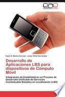 libro Desarrollo De Aplicaciones Lbs Para Dispositivos De Cómputo Móvil
