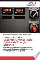 libro Desarrollo De Un Laboratorio Virtual Para Calidad De Energía Eléctric