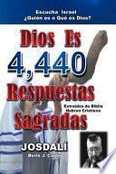libro Dios Es, 4.440 Respuestas Sagradas