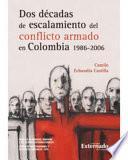 Dos Décadas De Escalamiento Del Conflicto Armado En Colombia (1986 2006)
