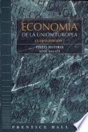 libro Economía De La Unión Europea