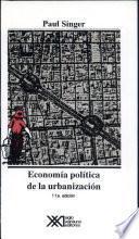 Economía Política De La Urbanización