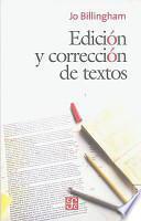 libro Edición Y Corrección De Textos