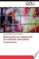 libro Educación En Valores En El Contexto Carcelario