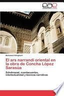 libro El Ars Narrandi Oriental En La Obra De Concha López Sarasúa