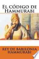 libro El Cdigo De Hammurabi