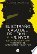 libro El Extrao Caso Del Doctor Jekyll Y Mr. Hyde
