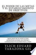 libro El Poder De Las Metas Y El Establecimiento De Objetivos