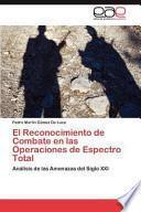 libro El Reconocimiento De Combate En Las Operaciones De Espectro Total