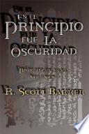 libro En El Principio Fue La Oscuridad