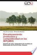 libro Encadenamiento Productivo Y Competitividad En Las Mipymes