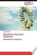libro Equilibrio General Aplicado