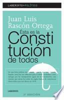 libro Ésta Es La Constitución De Todos