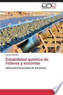 libro Estabilidad Quimica De Relaves Y Escorias