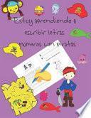 libro Estoy Aprendiendo A Escribir Letras Y Números Con Piratas