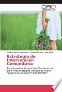 libro Estrategia De Intervención Comunitaria