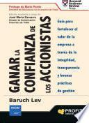 libro Ganar La Confianza De Los Accionistas