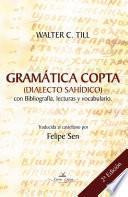 libro Gramática Copta (dialecto Sahídico)