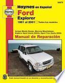 libro Haynes En Espanol Ford Explorer 1991 Al 2001, Todos Los Modelos