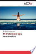 libro Hidroterapia Spa