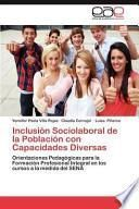 libro Inclusión Sociolaboral De La Población Con Capacidades Diversas