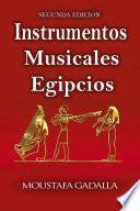 libro Instrumentos Musicales Egipcios