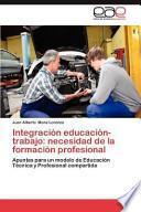 libro Integración Educación Trabajo