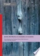 libro Justicia Distributiva En Sociedades En Transicion