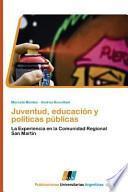 libro Juventud, Educación Y Políticas Públicas