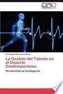 libro La Gestión Del Talento En El Deporte Contemporáneo