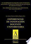 libro La Metodología De Investigación Acción En La Docencia Universitaria: Revisión De La Evolución De Una Red Nacional De Evaluación Formativa