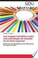 libro Los Mapas Mentales Como Una Estrategia De Estudio En El Nivel Superior