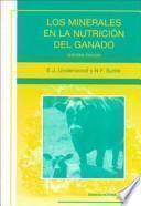 libro Los Minerales En La Nutrición Del Ganado