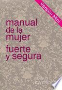 libro Manual De La Mujer Fuerte Y Segura, Versión Mini