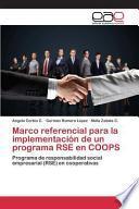 libro Marco Referencial Para La Implementación De Un Programa Rse En Coops