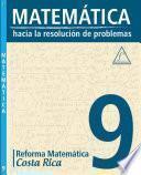 libro MatemÁtica 9