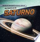 libro Matematicas En Saturno (math On Saturn)