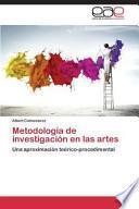 libro Metodología De Investigación En Las Artes
