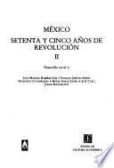 libro México, Setenta Y Cinco Años De Revolución