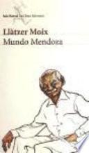 libro Mundo Mendoza