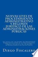 libro Nuevas Leyes De Procedimiento Administrativo Y Régimen Jurídico De Las Administraciones Públicas